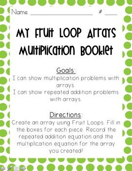Multiplication: Fruit Loop Arrays