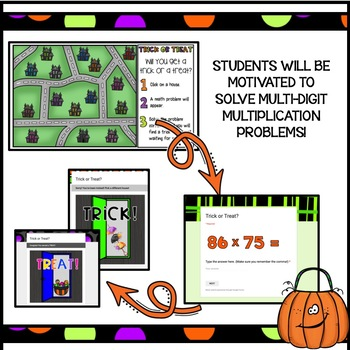Multiplication Fun Halloween Math Activity/Halloween Math Game
