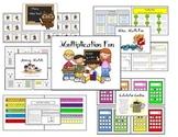 Multiplication Fun Math Fact Practice Packet