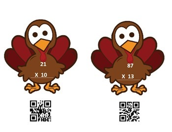 Multiplication Fun with QR Codes!