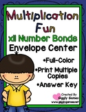 Multiplication Fun x11 Number Bonds Envelope Center