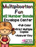 Multiplication Fun x12 Number Bonds Envelope Center