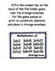 Multiplication Fun x3 Number Bonds Envelope Center
