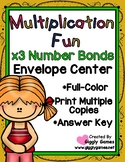 Multiplication Fun x3 Number Bonds Envelope Center