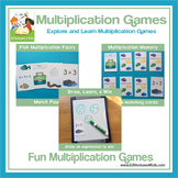 Multiplication Games: Fishing for Facts 1 - 5