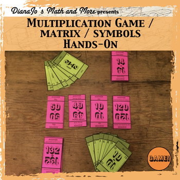 Multiplication GAME and Matrix - Master the Times Table!