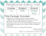 Multiplication Galley Walk