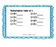 Multiplication Game (Self-Checking Folder Game/Worksheets)