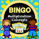Multiplication Activity: Multiplication Game of Bingo!