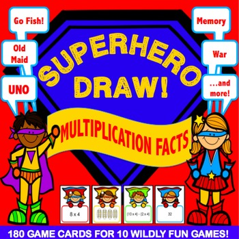 Multiplication Activities: 10 Multiplication Games for Mul