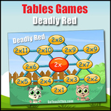 Multiplication Game - 2 Times Table to 12 Times Table - Deadly Red