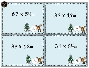 Multiplication Game 2 digit by 2 digit