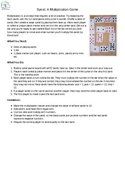 Multiplication Games Math Games for Multiplication Facts