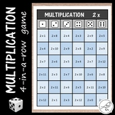 Multiplication Game:   4-in-a-row