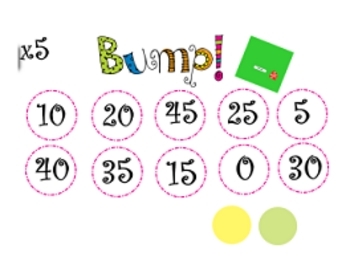 Multiplication Game- BUMP!
