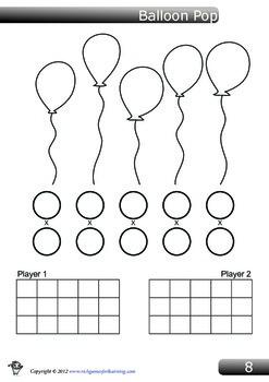 Multiplication Game - Balloon Pop