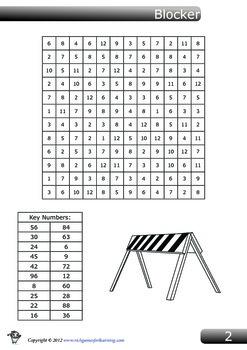 Multiplication Game - Blocker