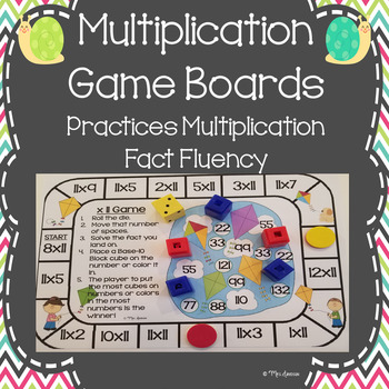 Multiplication Game Boards