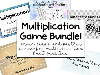 Multiplication Game Bundle