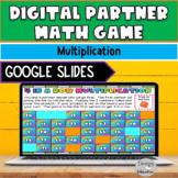 Multiplication Game Digital | Partner Math Game | Dollar Deals