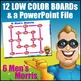 Multiplication Game & Division Game in One - 6 Men's Morris - a Math Center Game