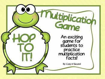 Multiplication Game: Hop To It!