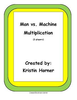 Multiplication Game: Man vs. Machine