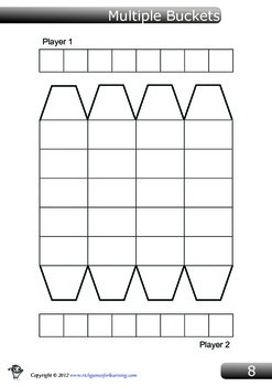 Multiplication Game - Multiple Buckets