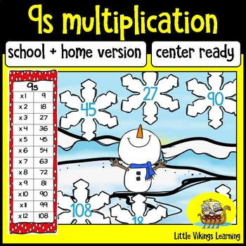 Multiplication Game: Nine Times Table Knock-out