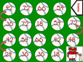 Multiplication Game Pack!! Aligned to CCSD 3.OA.7