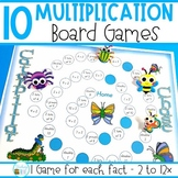 Multiplication Games - 2 to 12 x multiplication facts