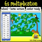 Multiplication Game: Six Times Table Knock-out