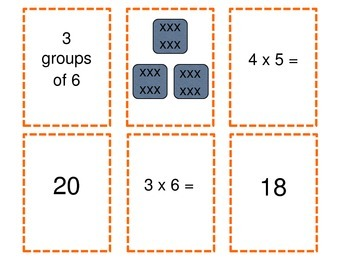 Multiplication Game Set A