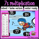 Multiplication Game: Seven Times Table Knock-out