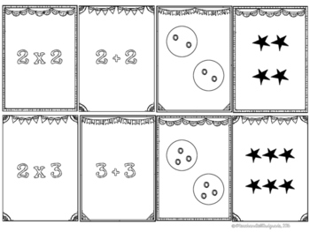 Multiplication Game - Spoons