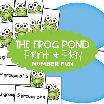 Multiplication Game 'Groups of' - The Frog Pond