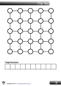 Multiplication Game - The Net