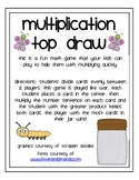 Multiplication Game: Top Draw