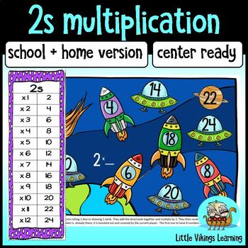 Multiplication Game: Two Times Table Knock-out