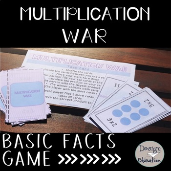 Multiplication Game War