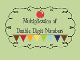 Multiplication Game for Double Digit Numbers