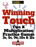Multiplication Game for Intermediate Learners: Winning Touch 2, 5, 9, 10, 11