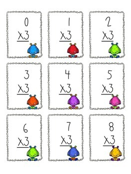 Multiplication Game x3 and x4