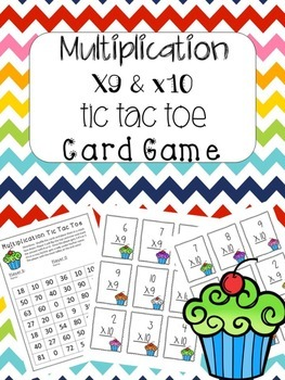 Multiplication Game x9 and x10