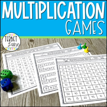 Multiplication Facts Dice Games