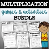 Multiplication Games & Activities Bundle