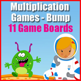 Multiplication Games: Bump {2 to 12 Times Table} - Multipl