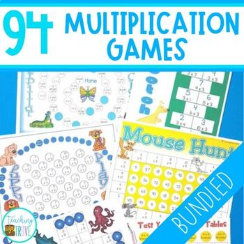 Multiplication Games Bundle