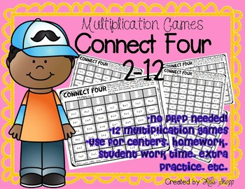 Multiplication Games Connect Four