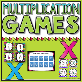 Multiplication Games (Facts 1s-12s)